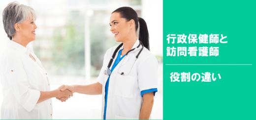 行政保健師訪問看護師役割違い