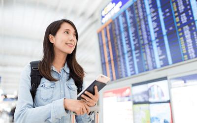 有給で旅行する女性産業保健師