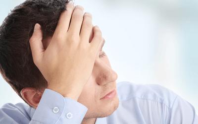 うつ病の男性社員